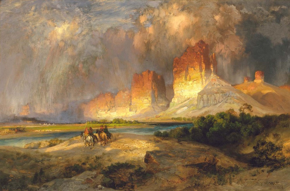 We need a Bierstadt on Barsoom... (1/6)