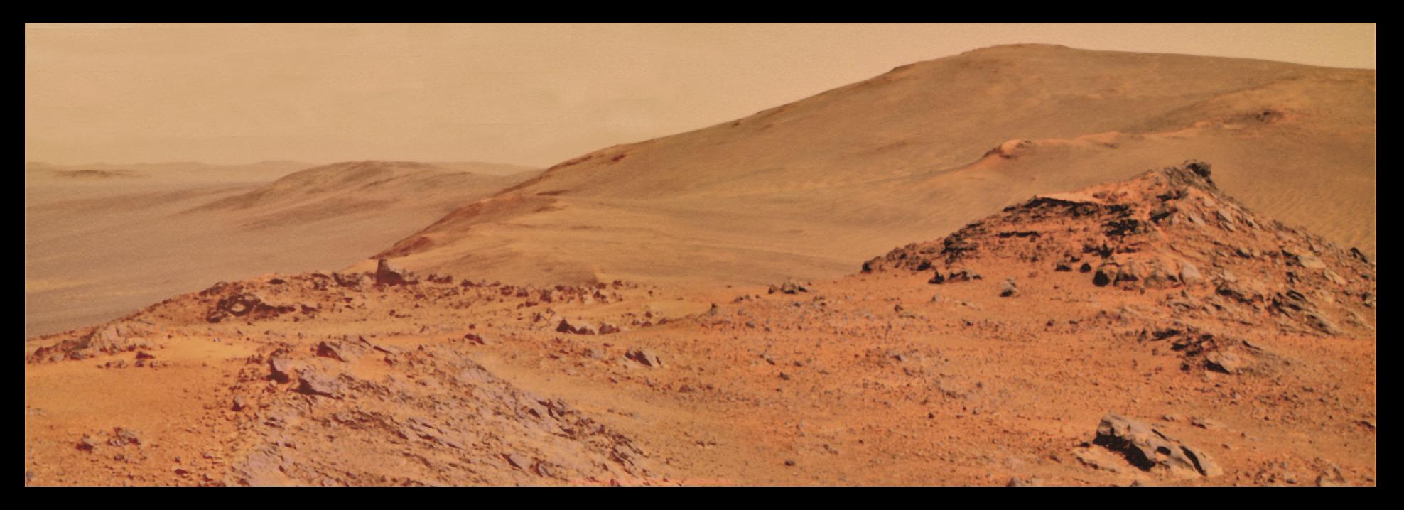 Mars Landscape Stones (page 3) - Pics about space