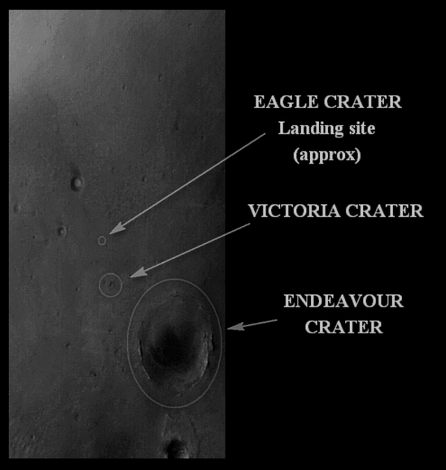 crater route